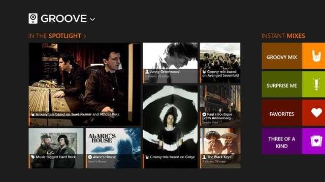Groove Music beschikbaar bij Sonos