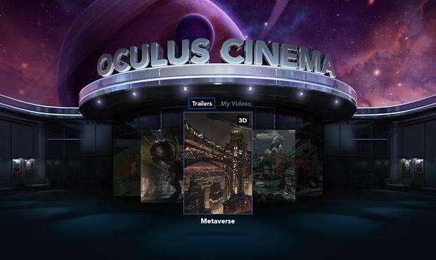 Oculus Rift krijgt bioscoop-app