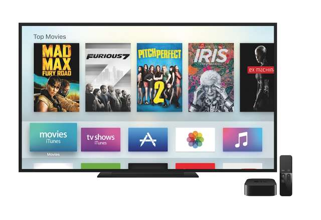 Apple lanceert TV met apps en games