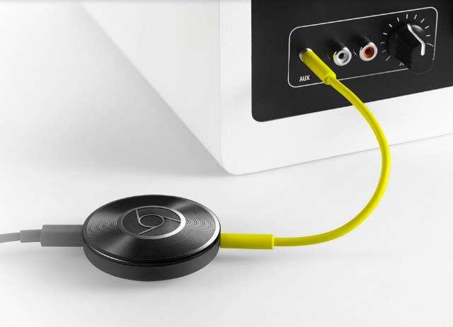 Google lanceert Chromecast voor audio