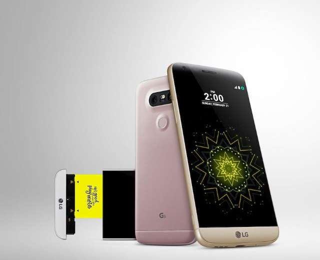 Modulaire LG G5 upgrade je met B&O-DAC