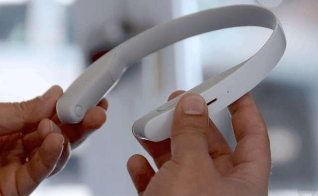 Sony werkt aan innovatieve hoofdtelefoon