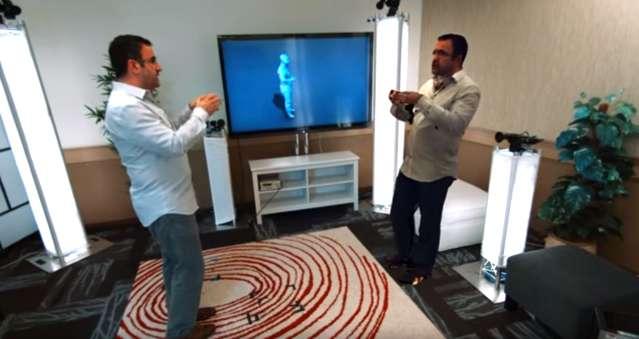 'Holoportatie' maakt je videogesprek net echt