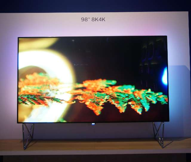Philips 8K TV op IFA 2016