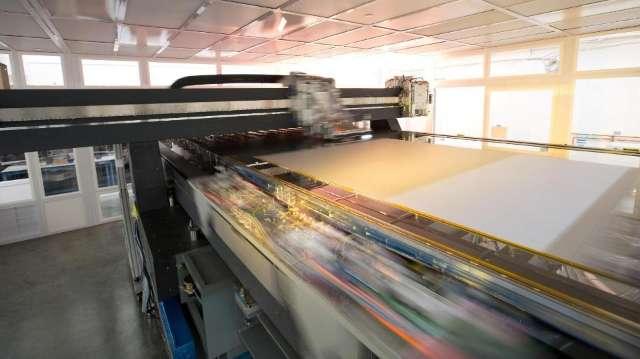 LG start in 2017 met het printen van OLED-tv's