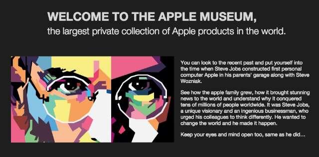 Apple-museum in Praag