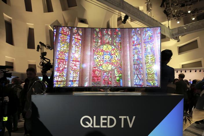 Samsung introduceert QLED TV's tijdens CES 2017
