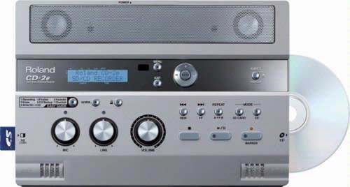Ondanks de uitgebreide mogelijkheden is de CD-2e erg gebruiksvriendelijk.