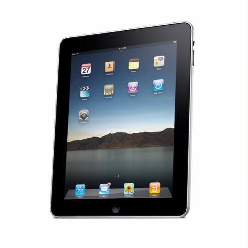 Steve Jobs onthult iPad.
