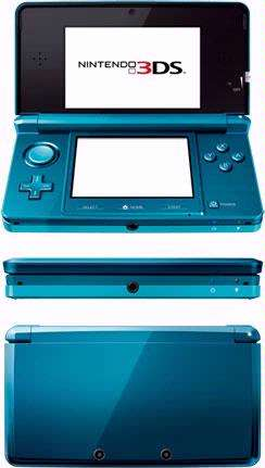 Nintendo introduceertmet de 3DS de driedimensionale opvolger van de DSI.