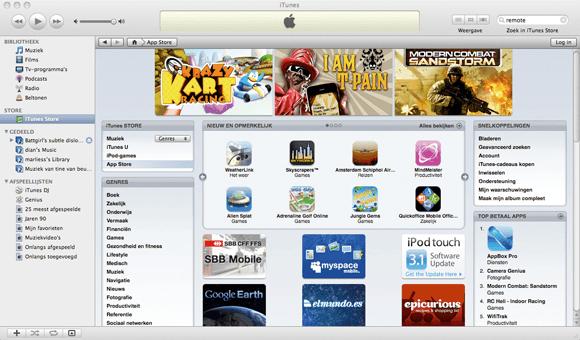 Bedien iTunes met je iPhone of iPod