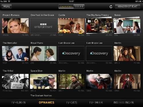 Yelo TV Opnames