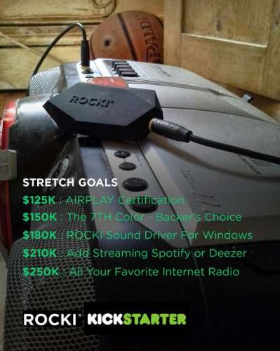 Rocki Stretch goals