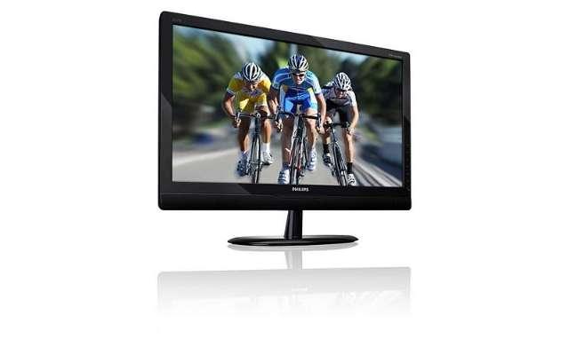 Philips LED-monitor dubbelt als tv