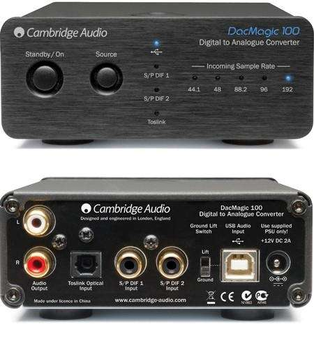 DAC Magic 100: het nieuwe instapmodel van Cambridge Audio