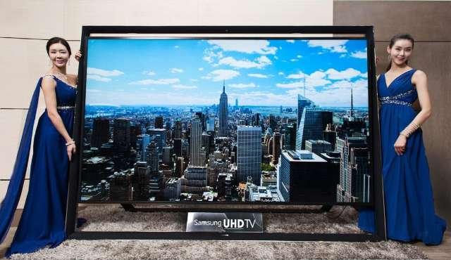 Samsung lanceert een 110 inch UHD-tv
