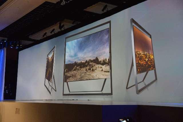 Samsung toont een 4K TV en een OLED TV