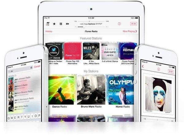 Apple lanceert muziekdienst iTunes Radio
