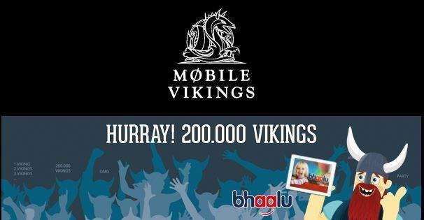 Gratis bhaalu kijken voor alle Mobile Viking klanten