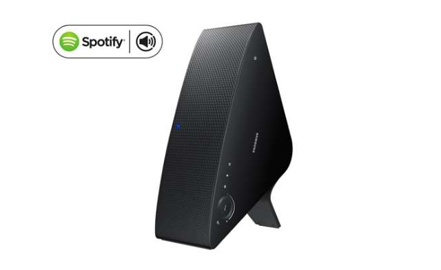 WiFi-speakers Samsung ontvangen Spotify Connect