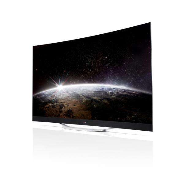 LG brengt curved 4K OLED schermen op de markt
