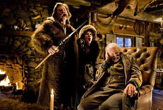 Eerste beelden van The Hateful Eight