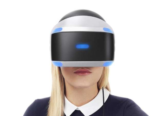 VR-bril voor PS4 is er in oktober