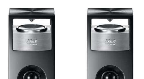 3D sound omnidirectionele speakers