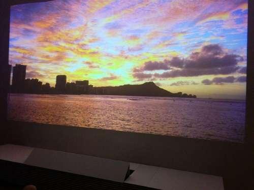 Sony 4K laser projector