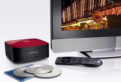 De compacte Dell Inspiron Zino HD minidesktop solliciteert openlijk naar een plaatsje naast je tv-scherm.