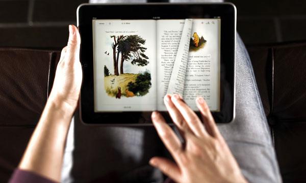 E-boeken lezen trager