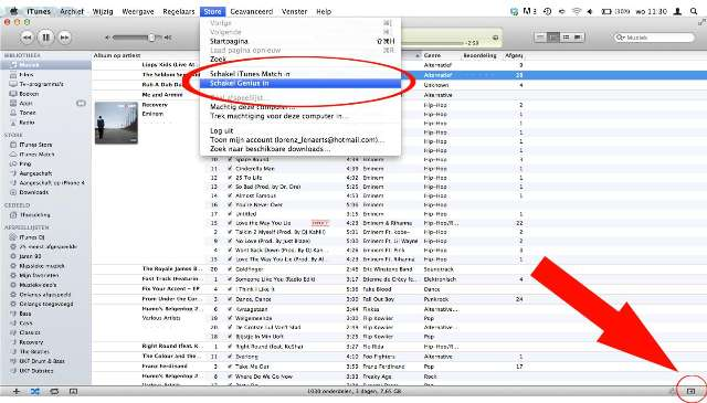 Workshop: iTunes Genius