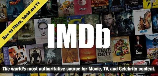 De handige website Internet Movie Database bestaat ook in appformaat.