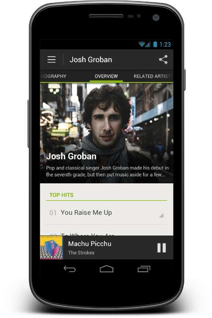 Grote Android-update voor Spotify