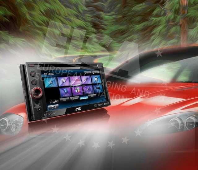 Beste smart connectivity product: JVC KW-NSX1E