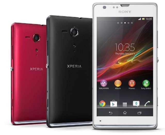 Twee nieuwe smartphones bij Sony