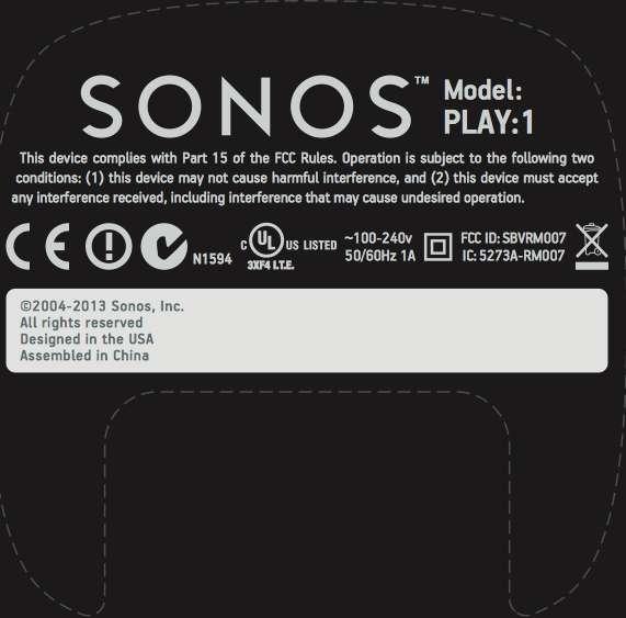 Nieuwe Sonos in het verschiet?