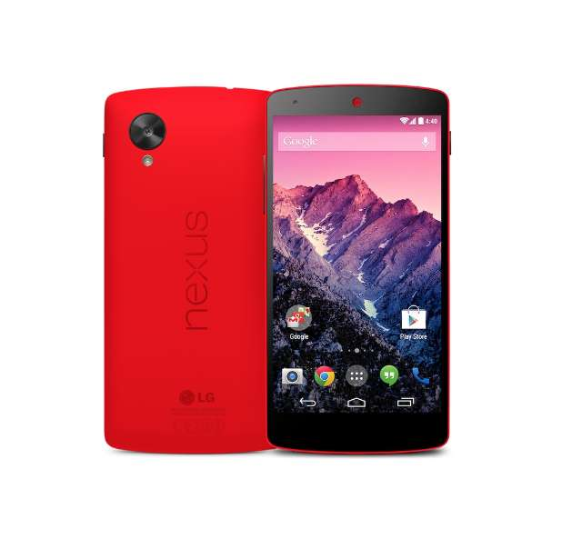 Nexus 5 krijgt rode kleur