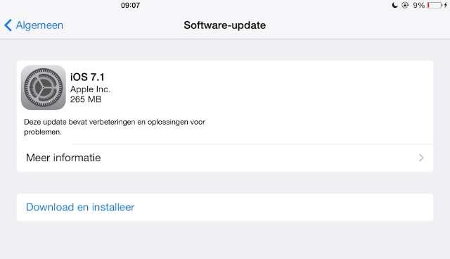 iOS-update herstelt slome iPhone 4