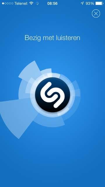 iPhone en iPad gaan liedjes herkennen