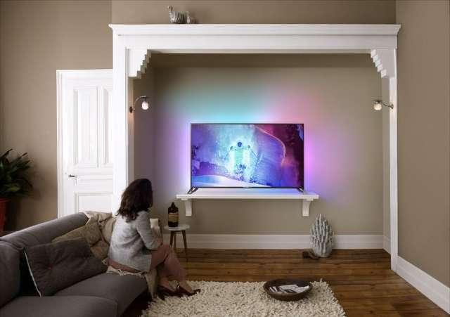 Philips toont vlaggenschip-tv met Android