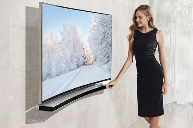 Samsung introduceert gebogen soundbar