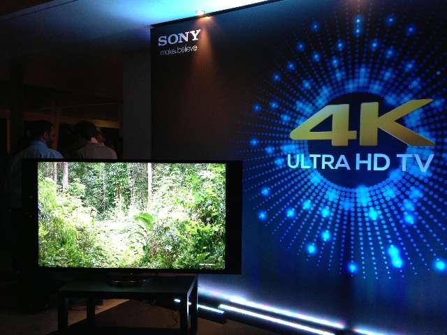 Sony Ultra HD TV series met HDR weergave
