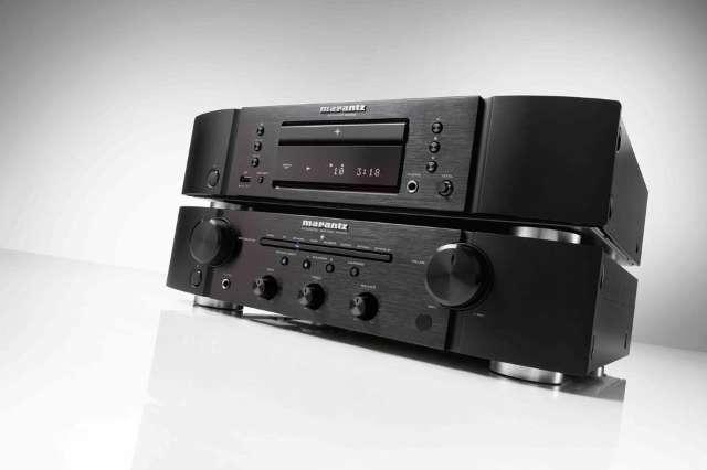 Marantz vuurt nieuwe betaalbare versterker en cd-speler af