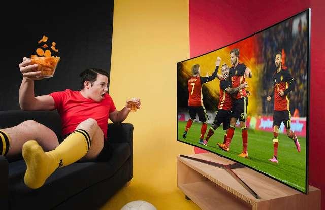 Voetbal kijken? Gebruik de sportmodus van je tv