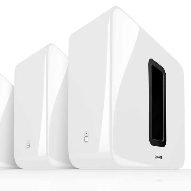 Sonos Sub gaat wit