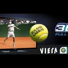 Roland Garros live op tv in 3D