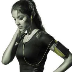 Bose-hoofdtelefoons op de sportieve toer
