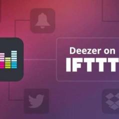 Deezer werkt samen met IFTTT