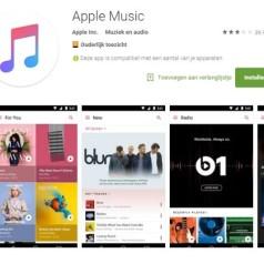 Android-versie Apple Music bewaart muziek